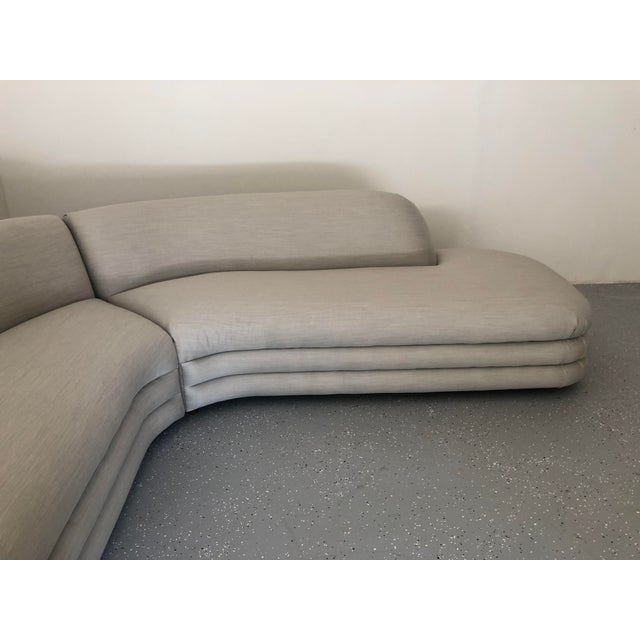 1970s Vladimir Kagan Directional Sectional Sofa For Sale In Raleigh - Image 6 of 9