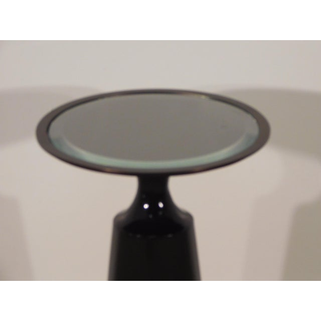 Modern Baker Furniture Company Virdine Round Accent Table For Sale - Image 3 of 7