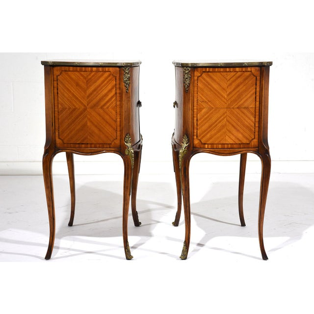 French Louis XVI-Style Commodes - A Pair - Image 4 of 10