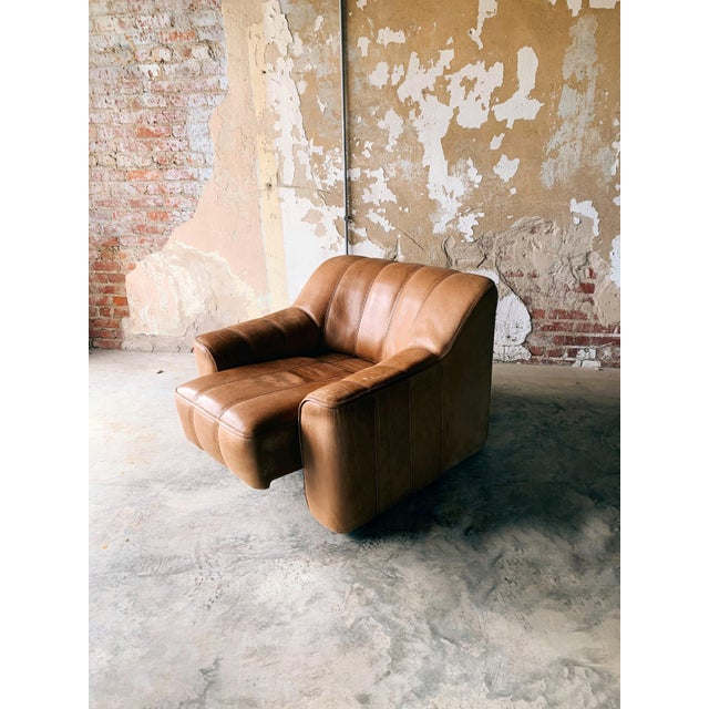 Danish Modern De Sede Ds44 Leather Chair For Sale - Image 3 of 7