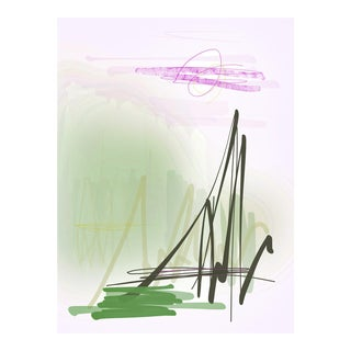 """""""Bayou"""" by Trixie Pitts Original Print on Heavy Paper For Sale"""
