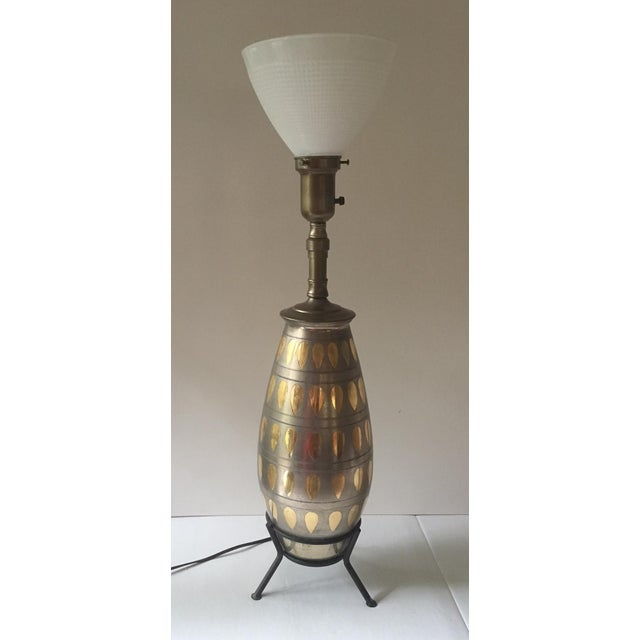 Mid-Century Modern Mid-Century Atomic Table Lamp For Sale - Image 3 of 7