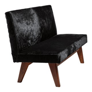 Pierre Jeanneret Chandigarh High Court bench, 1950s For Sale