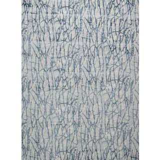 "Stark Studio Rugs Jeeves Rug in Blue, 9'8"" x 13'2"" For Sale"