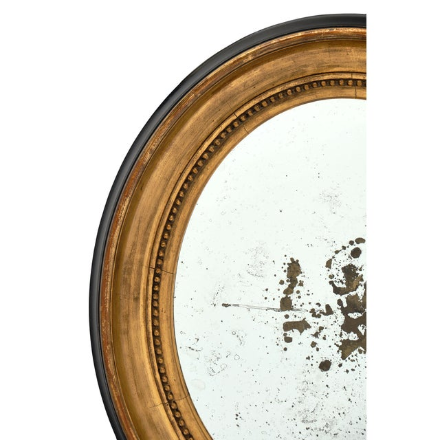 Late 18th Century Louis XVI Period French Oval Mirror For Sale - Image 5 of 10