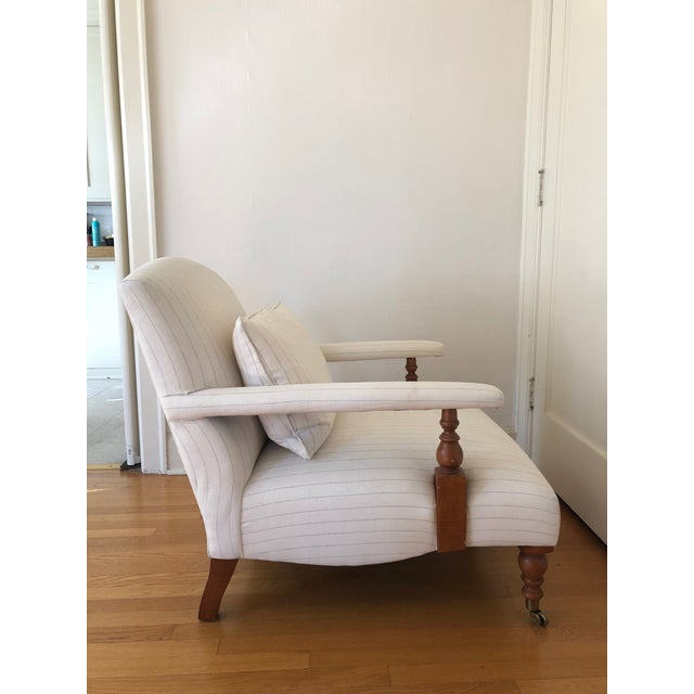 """Traditional Traditional Ralph Lauren """"Oliver"""" Accent Chair For Sale - Image 3 of 11"""