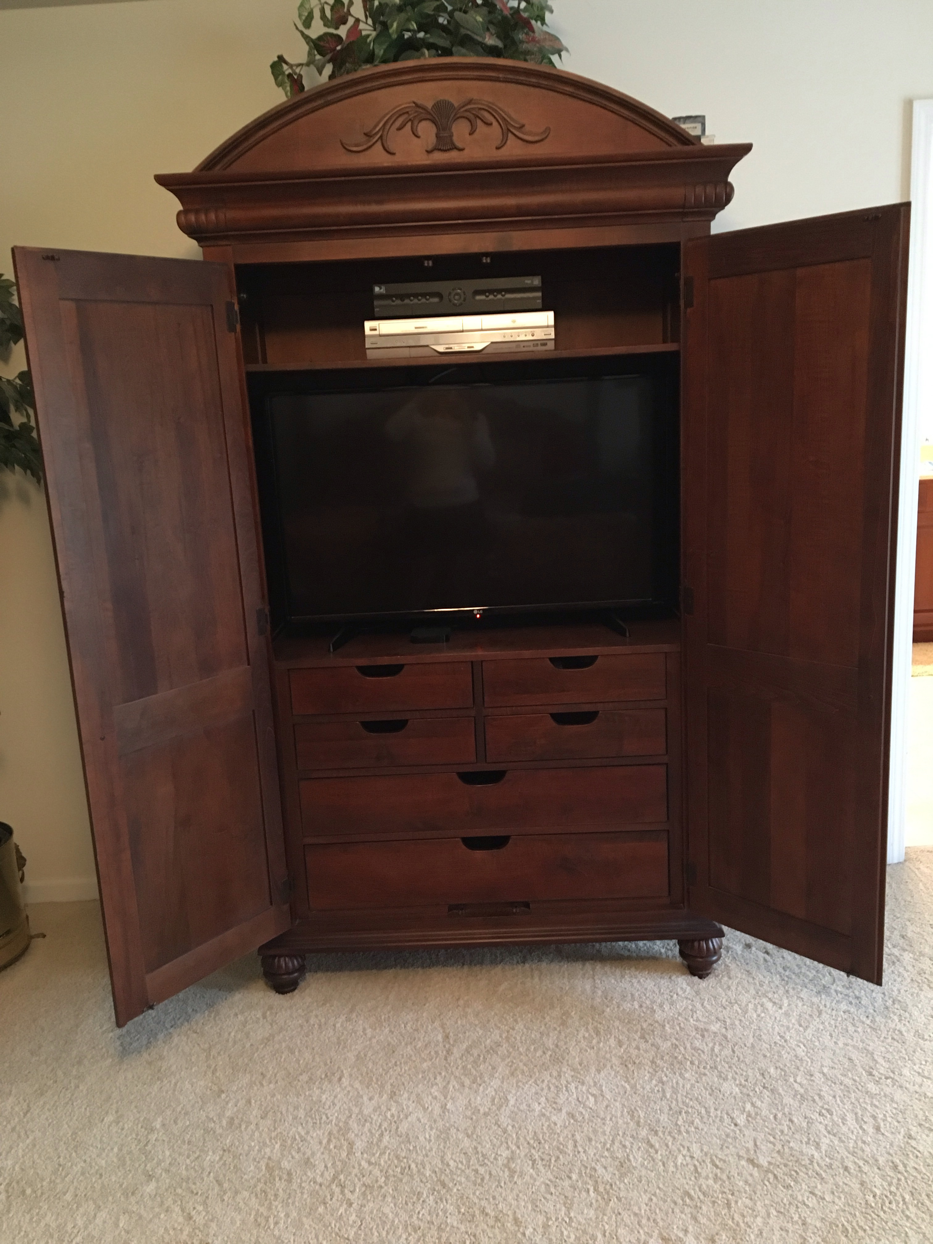 Charmant Ethan Allen British Classics Armoire