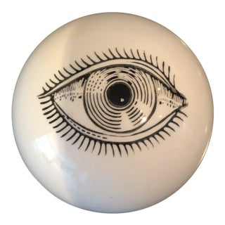 1960s Mid-Century Modern Fornasetti Eyeball Paperweight For Sale