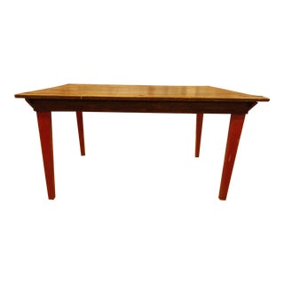 1960s French Country Farm Table For Sale