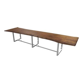 Oh Live Edge Conference Table 2 For Sale