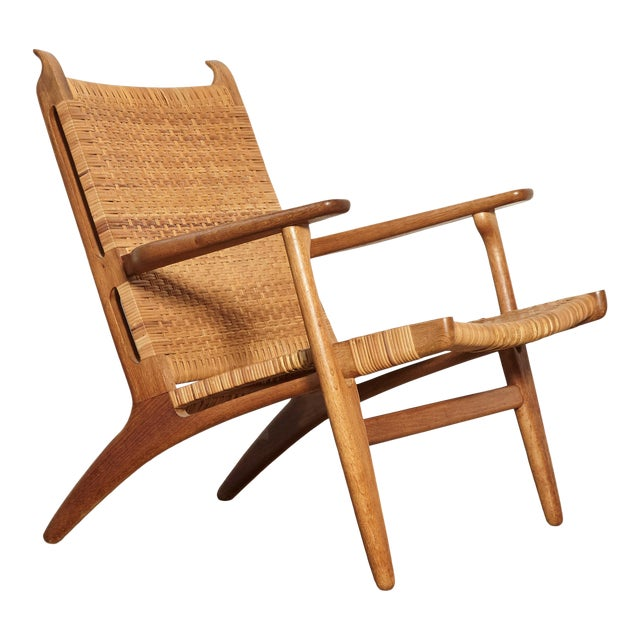 Hans Wegner Ch-27 Chair, Carl Hansen & Son, Denmark, 1950s For Sale