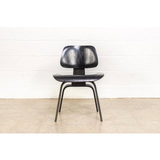Vintage Eames for Herman Miller Black Dcw Dining Chair Preview
