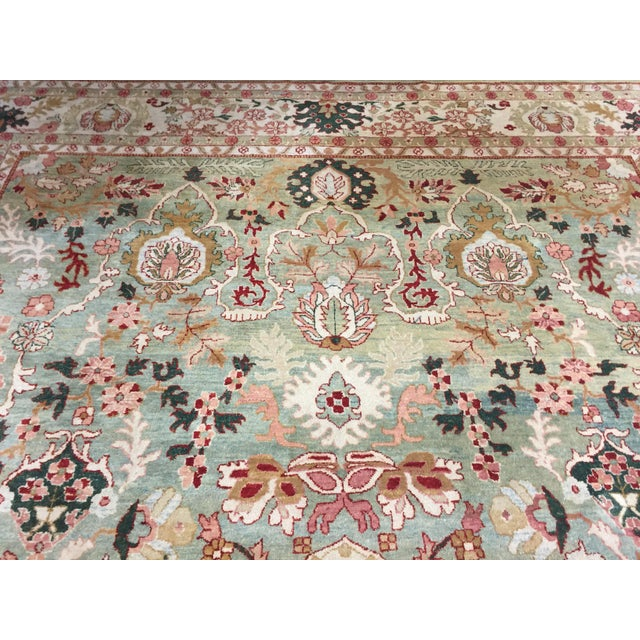 "Indo Persian Tabriz 152""x219"" For Sale In San Francisco - Image 6 of 8"