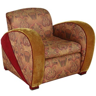 Art Deco Jazz Club Chair in the Style of Frankl's Speed Chair 6 Available For Sale