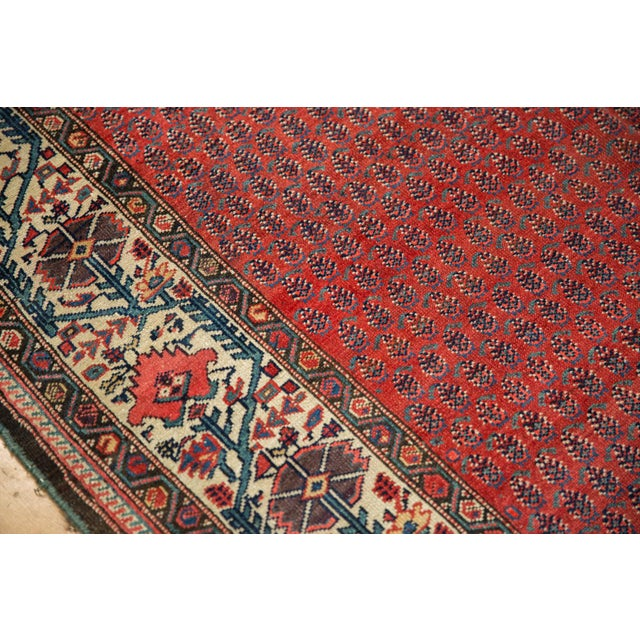 "Cotton Vintage Malayer Carpet - 5'8"" X 8'5"" For Sale - Image 7 of 12"