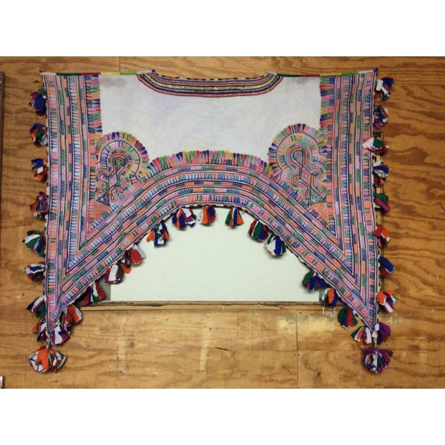 We searched high and low for this rare textile... Originating from Uzbekistan, it was traditionally used as part of a...
