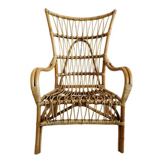 Bamboo Plantation Arm Chair For Sale