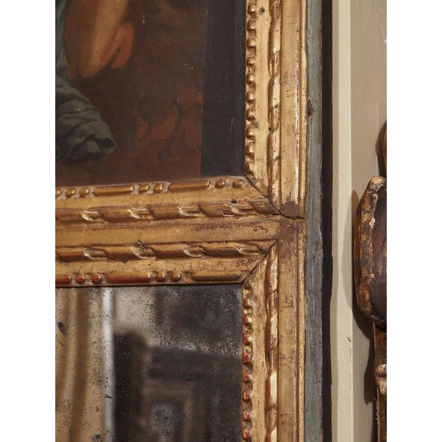 Mid 19th Century 19th Century French Trumeau Mirror For Sale - Image 5 of 6