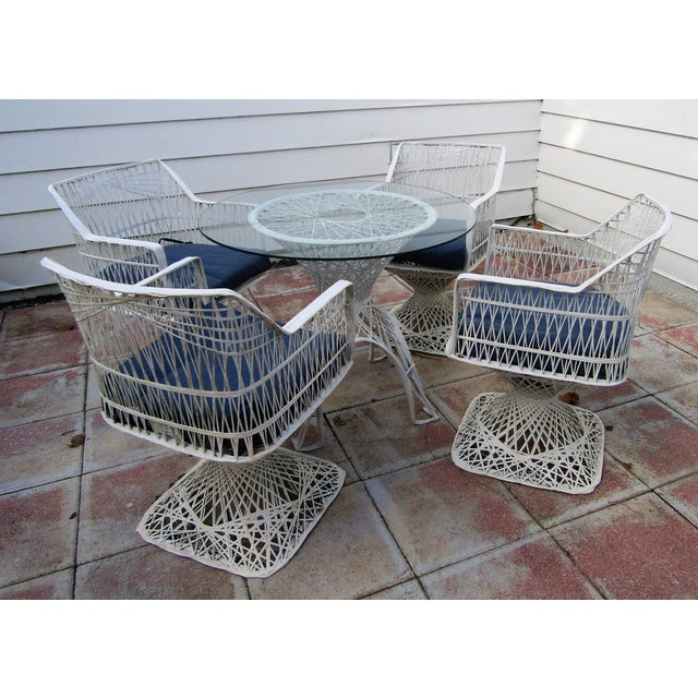 Vintage Spun Fiberglass Russell Woodard Dining Set For Sale In West Palm - Image 6 of 9