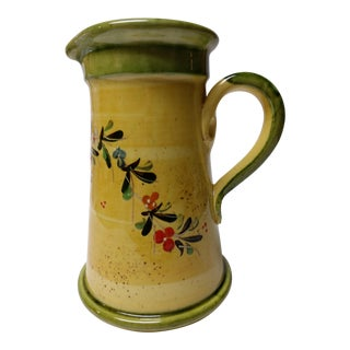 Vibrant Yellow French Pitcher