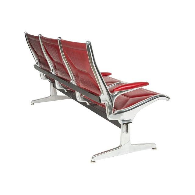 Herman Miller Eames for Herman Miller Tandem Sling Bench For Sale - Image 4 of 10