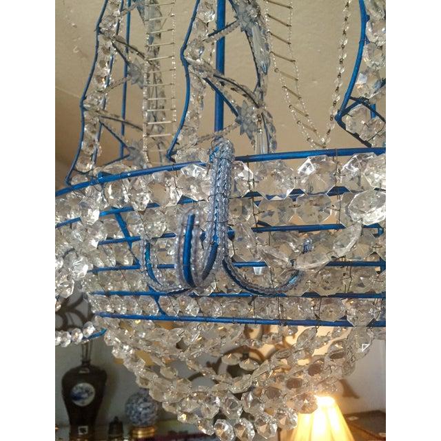 Nautical glam iron crystal ship chandelier chairish