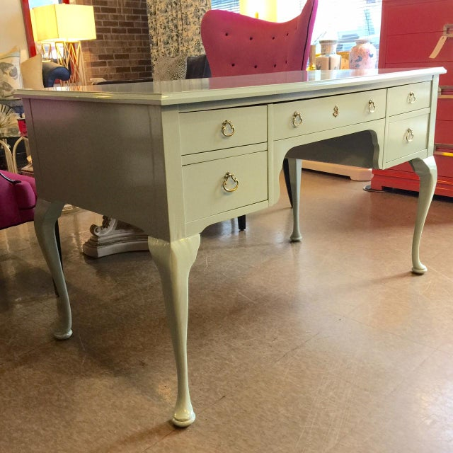 French Style Vintage Lacquered Desk - Image 3 of 7