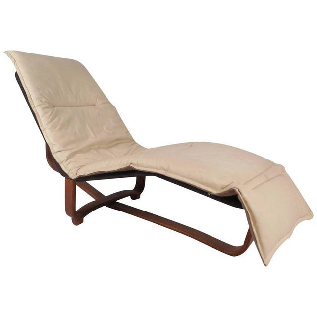 Mid Century Modern Chaise Longue By Ingmar Knut Relling For