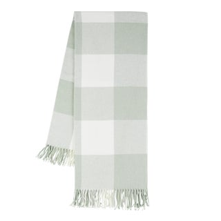 Sea Glass Buffalo Check Throw For Sale