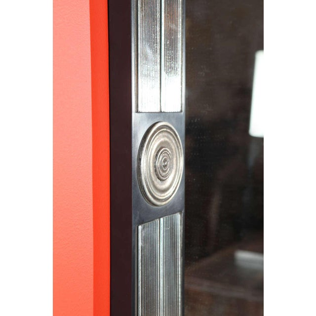Customizable Paul Marra Medallion Mirror with Ribbed Glass - Image 5 of 8
