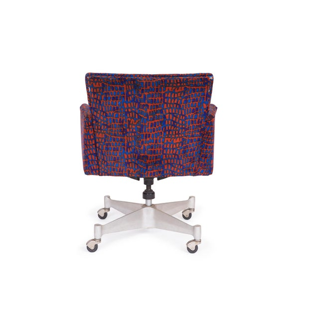 Mid-Century Modern 1960s Vintage George Nelson Herman Miller Office Chair For Sale - Image 3 of 5