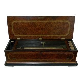 19th Century B. A. Brémond Geneva Cylinder Music Box For Sale