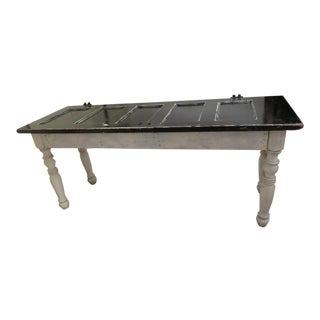Farmhouse Style Console Table For Sale