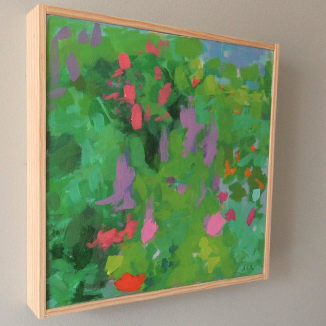Abstract Dreams of Giverny by Anne Carrozza Remick For Sale - Image 3 of 6