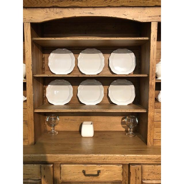 Italian Solid Oak Buffet For Sale In Greensboro - Image 6 of 13