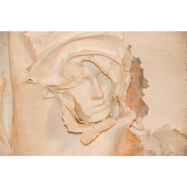 Artist: Ross Mazur, American and Marcia Mazur-Gold, American Medium: handmade paper, Pressed Cotton Fiber Collage...