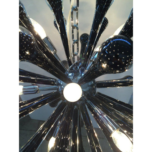 2010s Murano Glass Triedo Sputnik Chandelier For Sale - Image 5 of 7