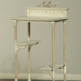 19th Century French Painted Louis XVI Shelf ~ Etagere Preview