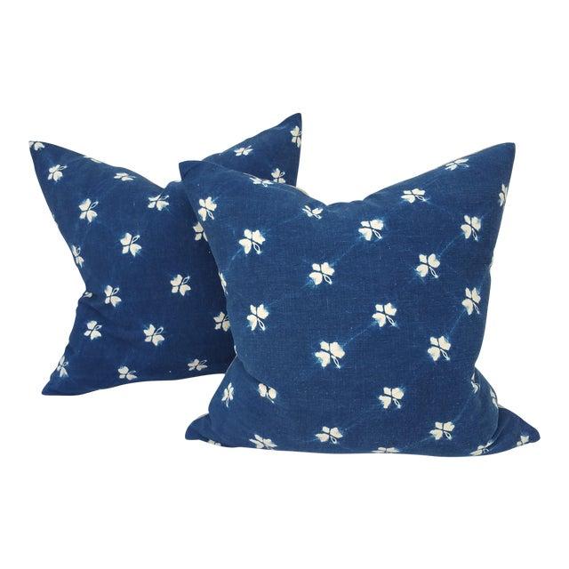 Japanese Shibouri Pillows - A Pair - Image 1 of 5