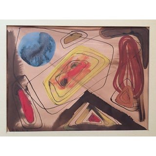 1946 Abstract Anita Morhalt Simpson Bay Area For Sale