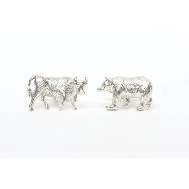 These Sterling Silver custom cuff links are so Wall Street, perfect for those men involved in commodities. They were...