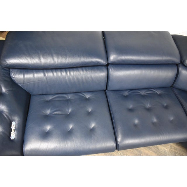 "Metal Roche Bobois ""Cinetique"" Reclining Modular Sofa For Sale - Image 7 of 13"