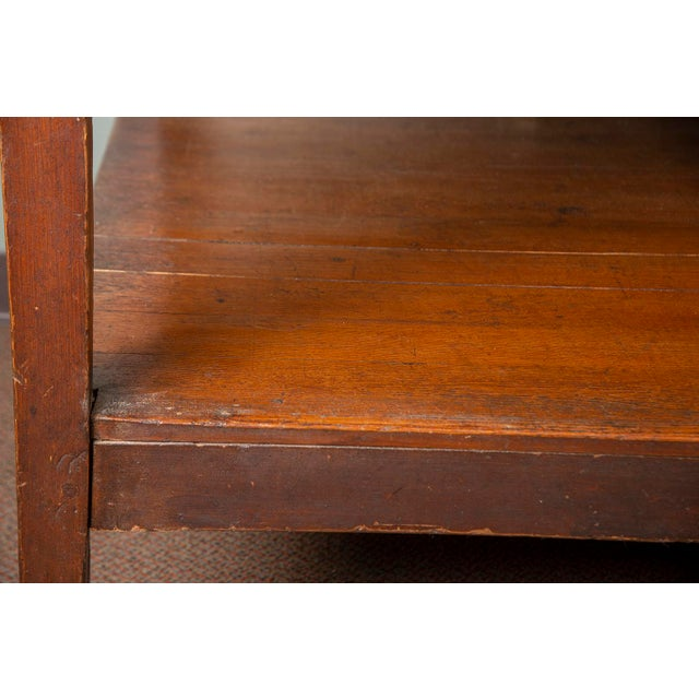 Early 19th Century 19th Century French Pine Drapers Table With Original Finish For Sale - Image 5 of 13