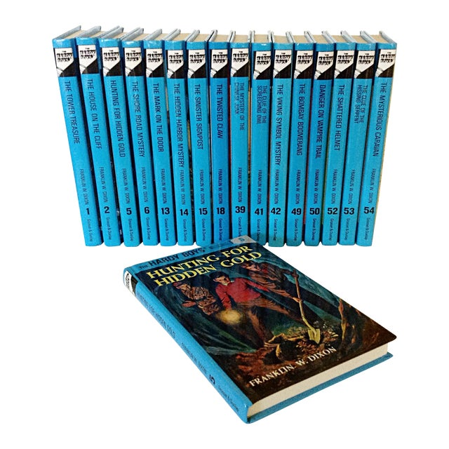 Hardy Boys Collection Books - Set of 17 - Image 1 of 3