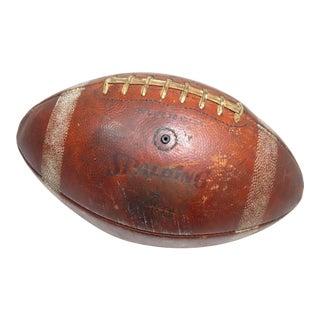 Vintage Louisiana Tech University Football Team Game Used Football For Sale