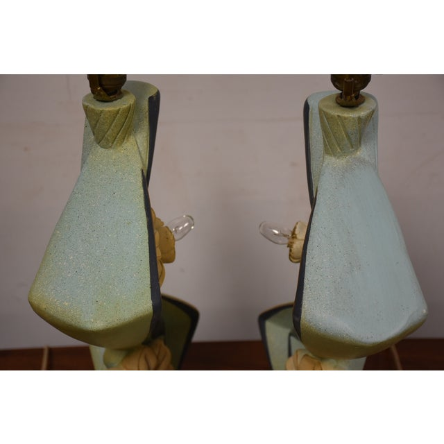 Mid-Century Table Lamps - A Pair - Image 4 of 11