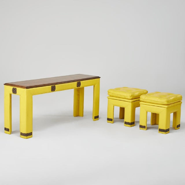 Adrian Pearsall 'Sunshine' Tables - Set of 3 - Image 2 of 7