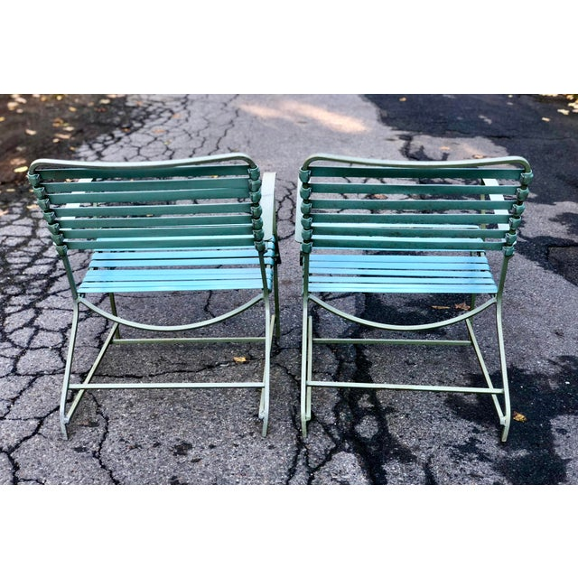 Mid Century Modern Patio Furniture Set Lounge & Chairs For Sale - Image 11 of 13