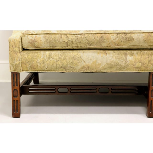 Gold Southwood Camelback Chippendale Style Sofa For Sale - Image 8 of 13