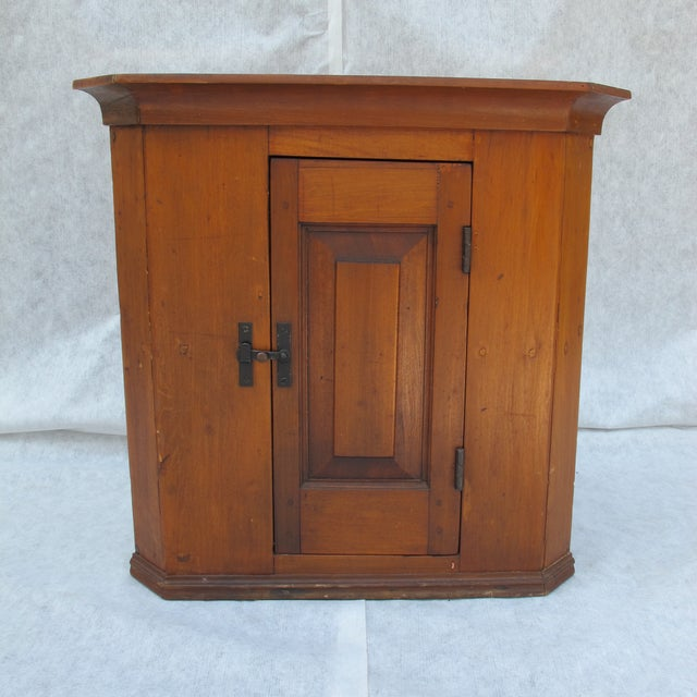 Cherry Wood Corner Cupboard - Image 2 of 11